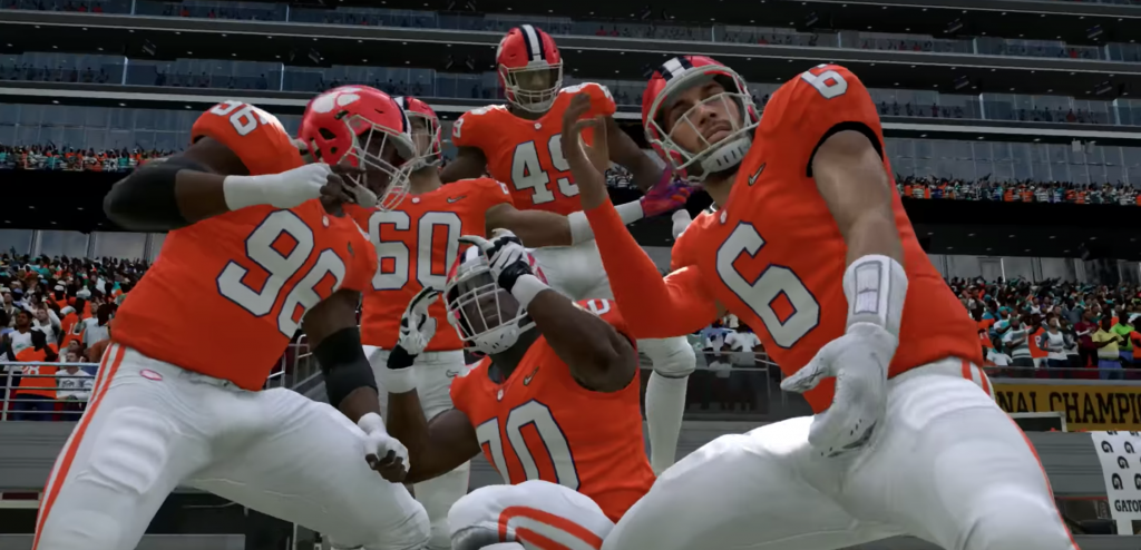 Clemson in Madden20