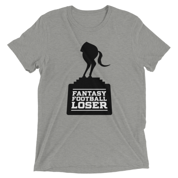 Gray Fantasy Football Loser Shirt - Half Horse