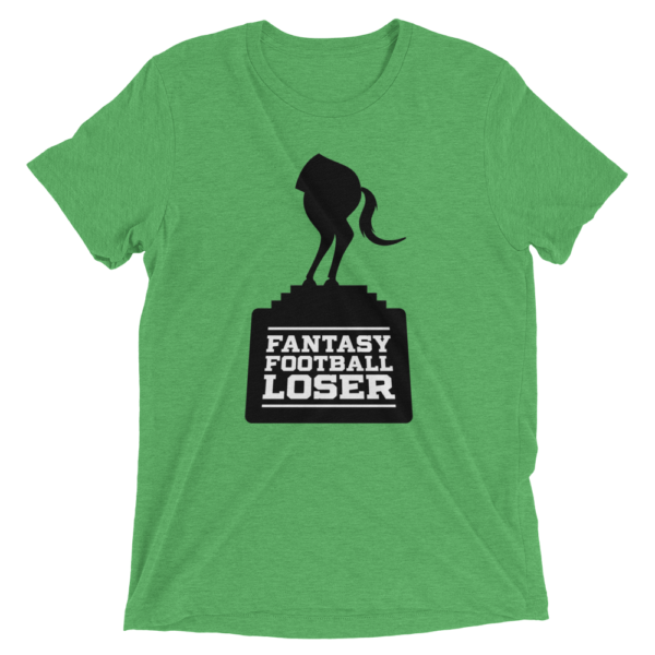 Green Fantasy Football Loser Shirt - Half Horse